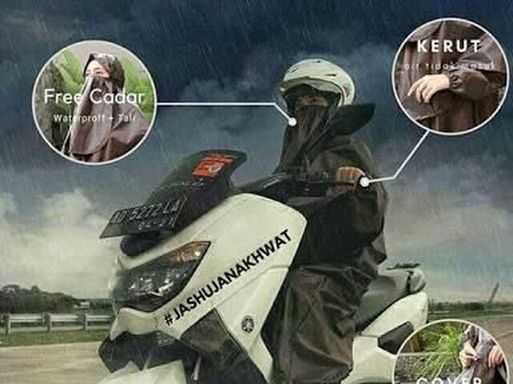 Terpopuler Akhir Pekan: Jas Hujan Syari hingga Honda Freed itu Lucu