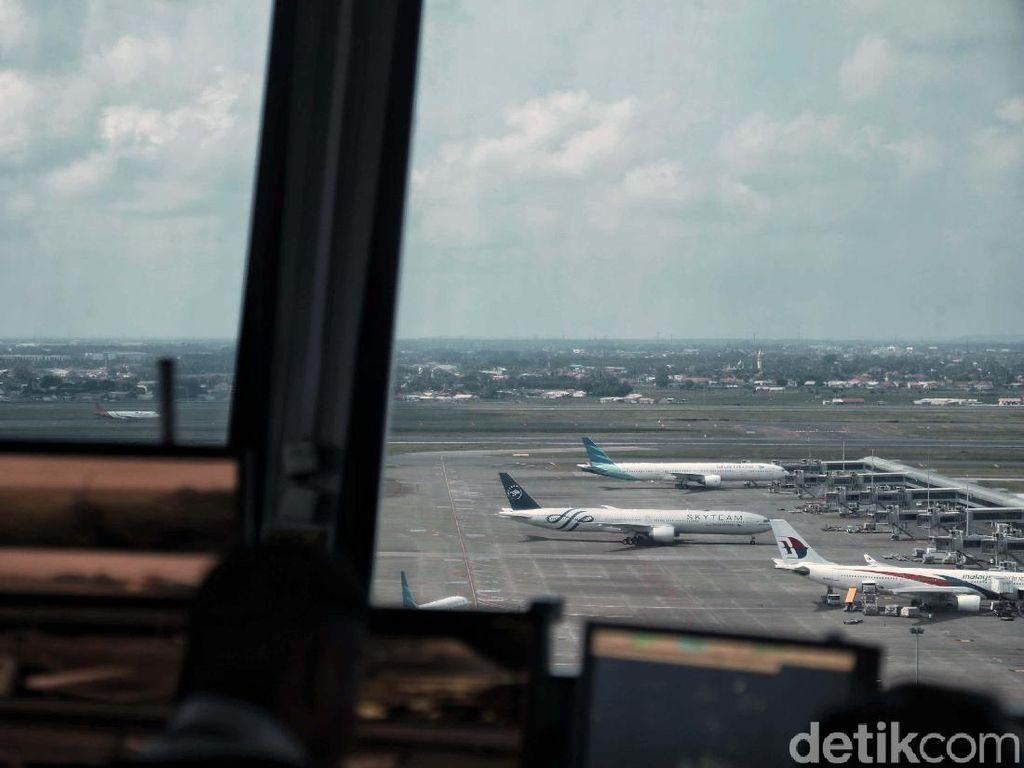 Bandara Soekarno-Hatta Masih Buka Penerbangan Internasional