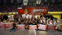 Futsal Wabup Cup 2020 Usai, SMAN 1 Rogojampi Banyuwangi Juara