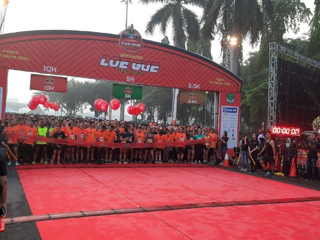 Peringati Puncak HUT Ke-70, Kodam Jaya Selenggarakan Lomba Lari Disabilitas