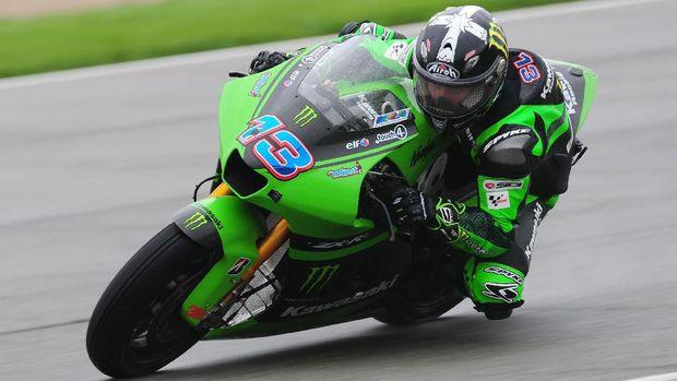 Anthony West tidak pernah naik podium di MotoGP.