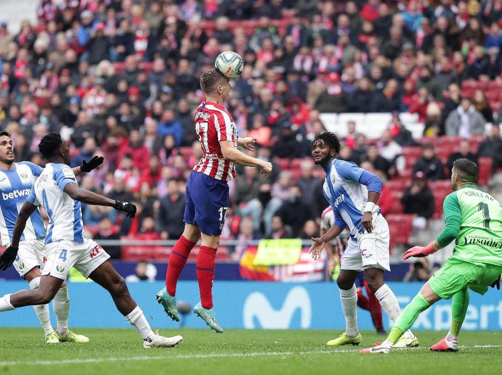 Hasil Liga Spanyol: Ditahan Leganes, Atletico Perpanjang Tren Negatif