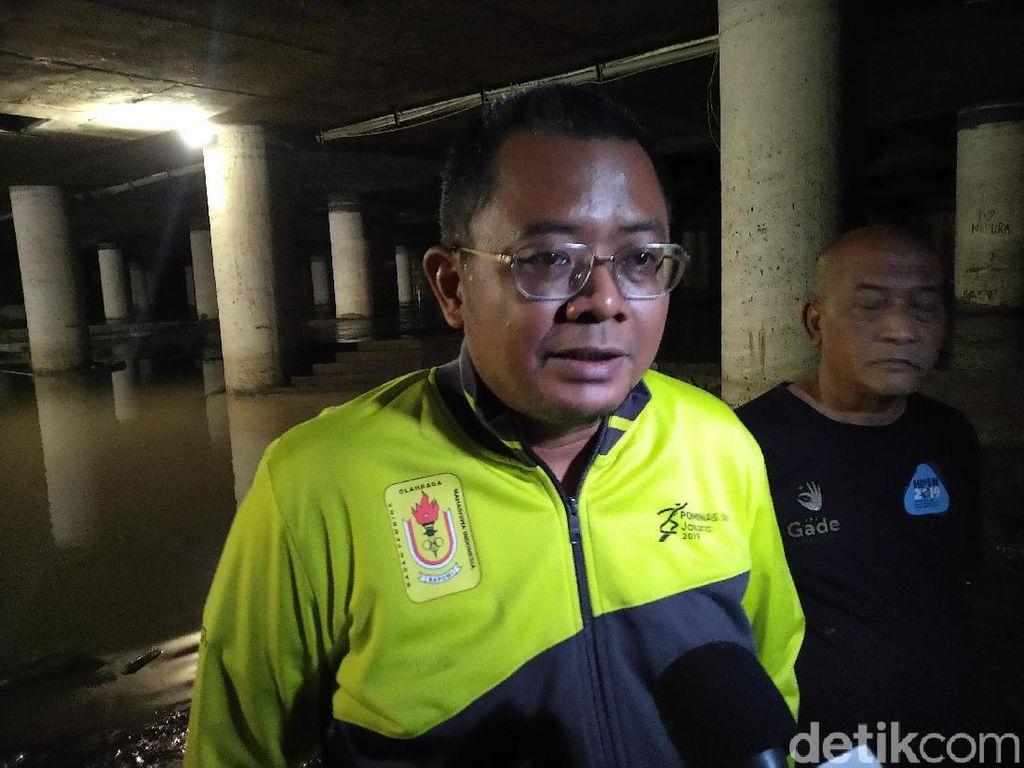 Underpass Kemayoran yang Banjir Diprediksi Bisa Dilalui Warga Besok