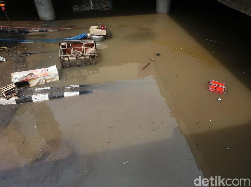Kok Underpass Kemayoran Banjir Lagi? Ini Analisa Kementerian PUPR
