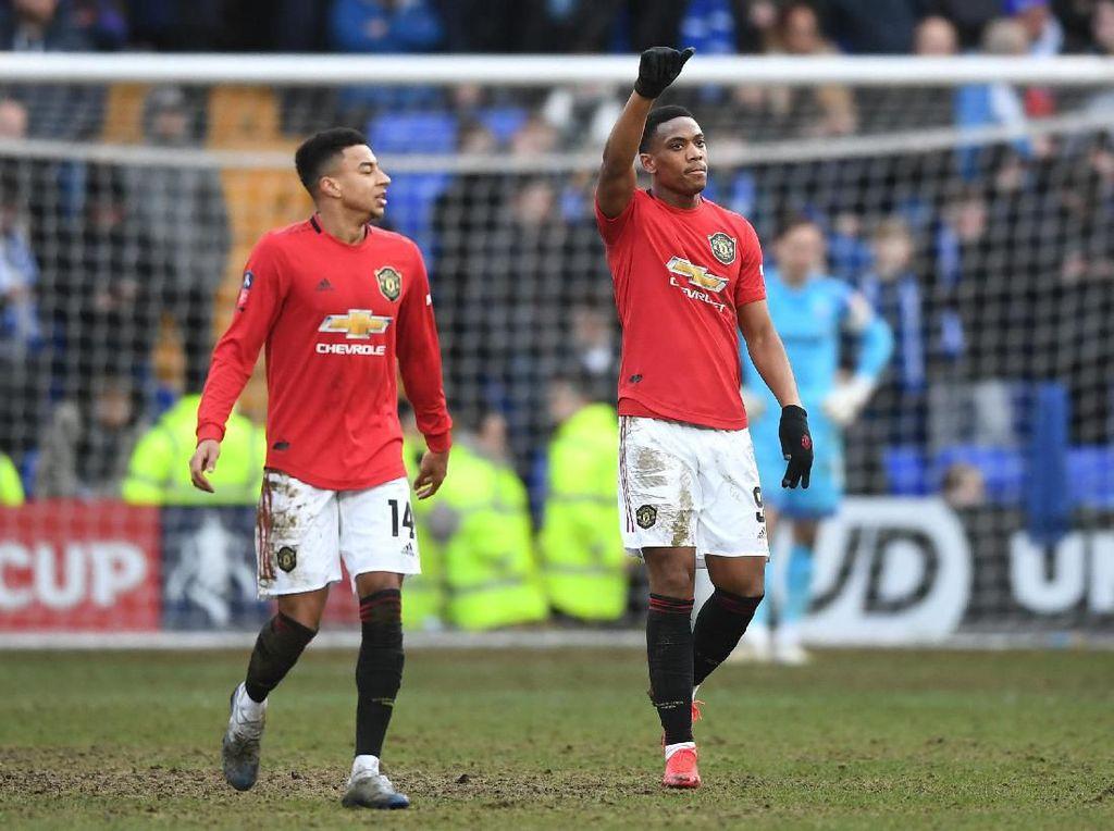 Babak I: Tranmere Rovers 0-5 Man United