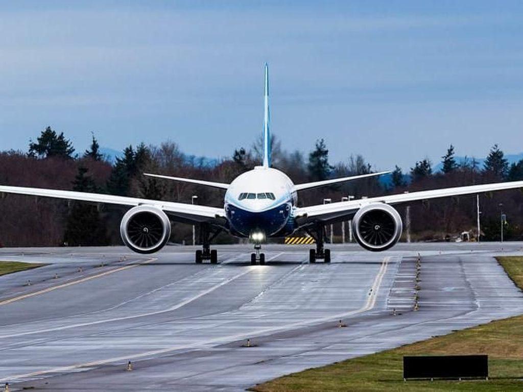 Masih Berdarah-darah, Boeing Tunda Luncurkan 777-X