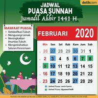 Niat Puasa Senin Kamis Dan Jadwal Puasa Sunah Bulan Jumadil Akhir 1441 H Berita Medan Hari Ini