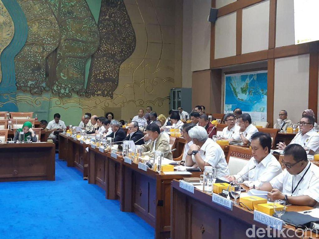 Bareng DPR, Menteri ESDM Bahas Harga Gas