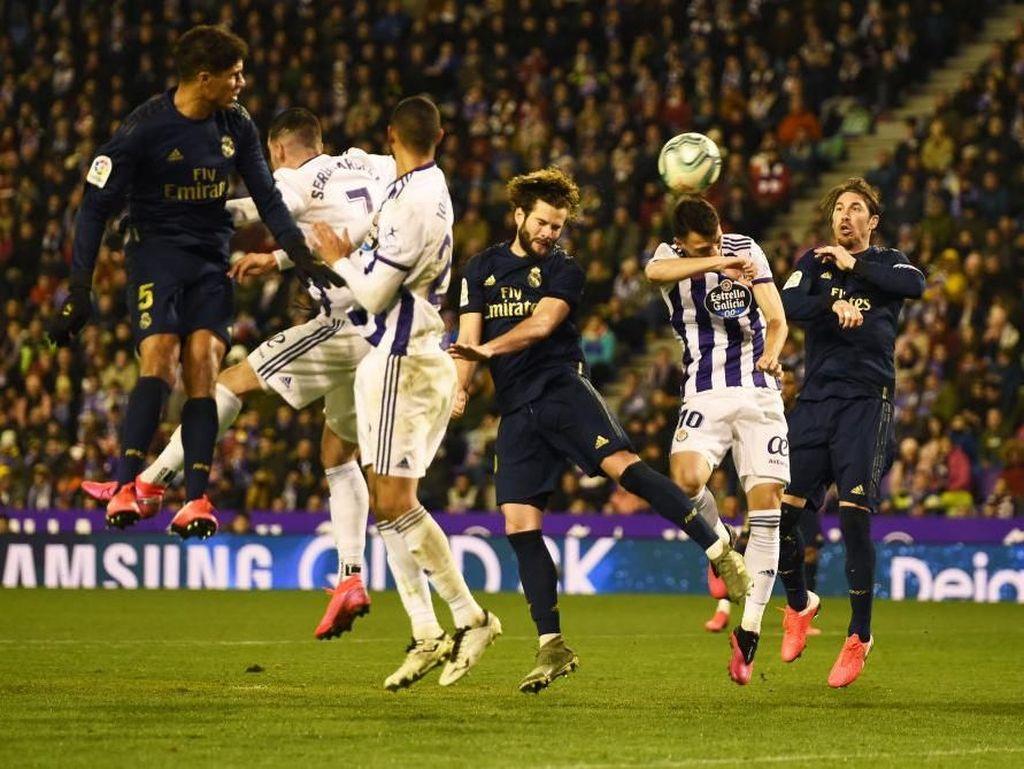 Kalahkan Valladolid, Madrid Rebut Puncak Klasemen dari Barcelona