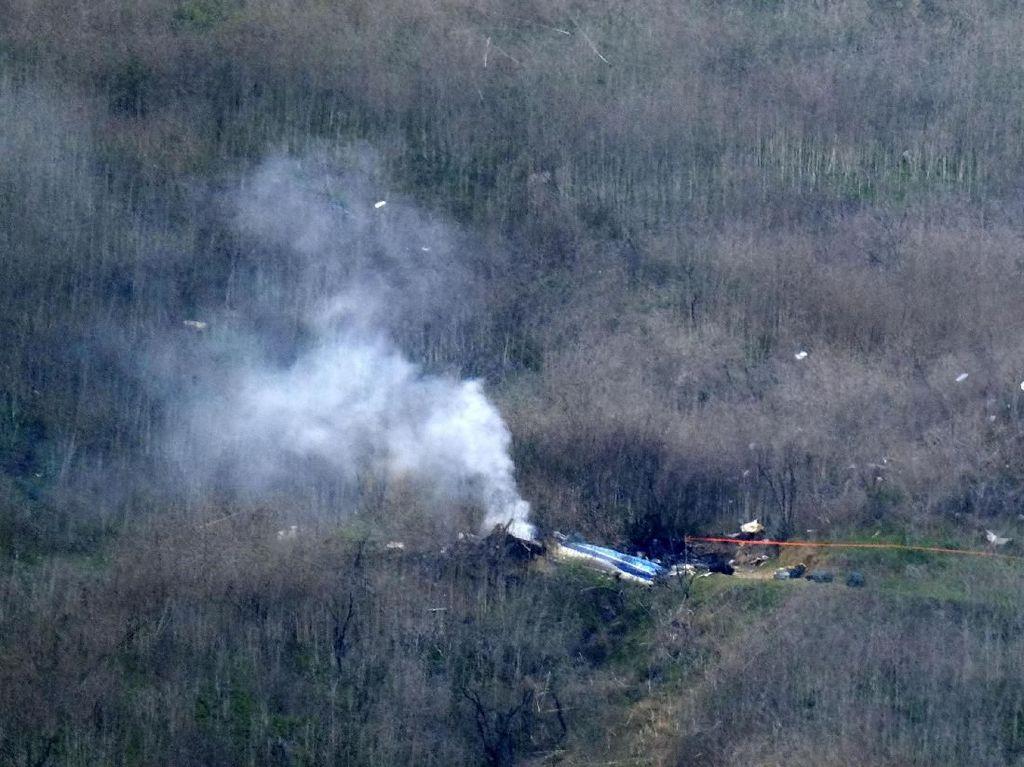 Tiga Jenazah Korban Helikopter Kobe Bryant Berhasil Dievakuasi
