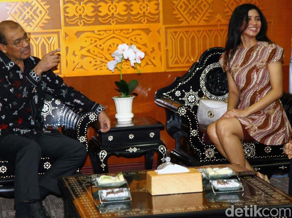Wakil Ketua I DPD RI Terima Putri Maluku 2019