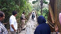 Pemko Medan Minta Kecamatan Ajukan Perbaikan Jembatan Lapuk ke Dinas PU