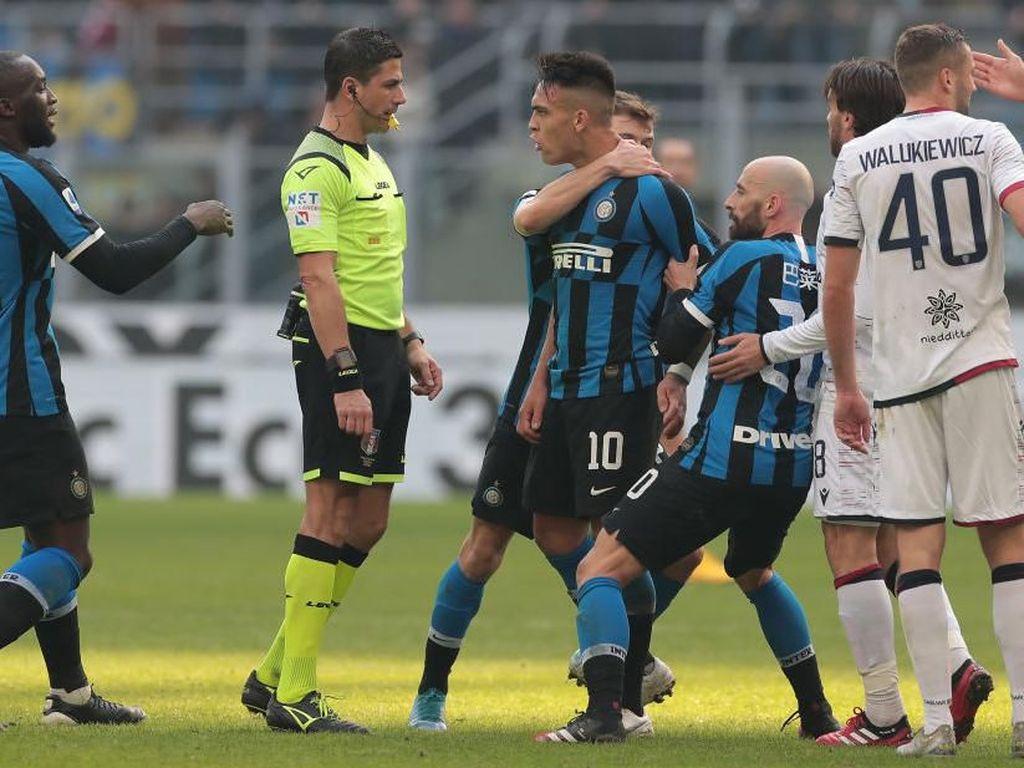 Handanovic: Inter Gagal Menang Bukan Salah Wasit