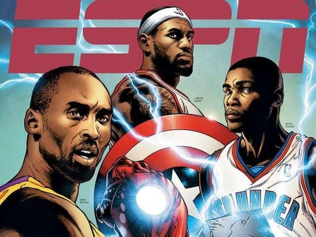 Komikus Marvel Beri Penghormatan pada Kobe Bryant Bak Iron Man