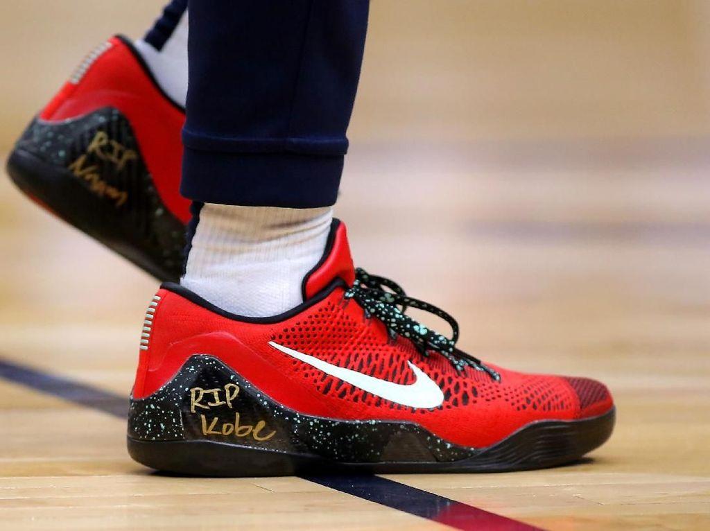 Berkabung, Para Atlet NBA Kompak Pakai Sneakers RIP Kobe Bryant
