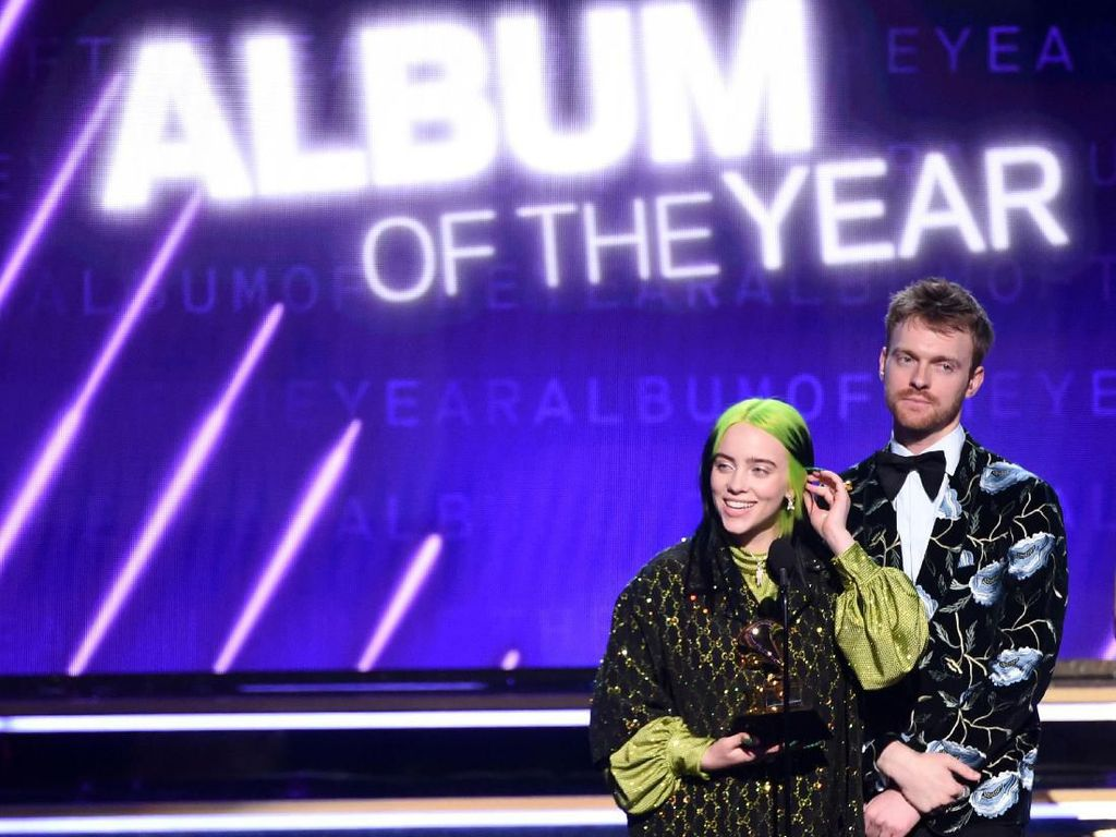 Sapu Bersih, Billie Eilish Sabet Piala Album dan Record of the Year