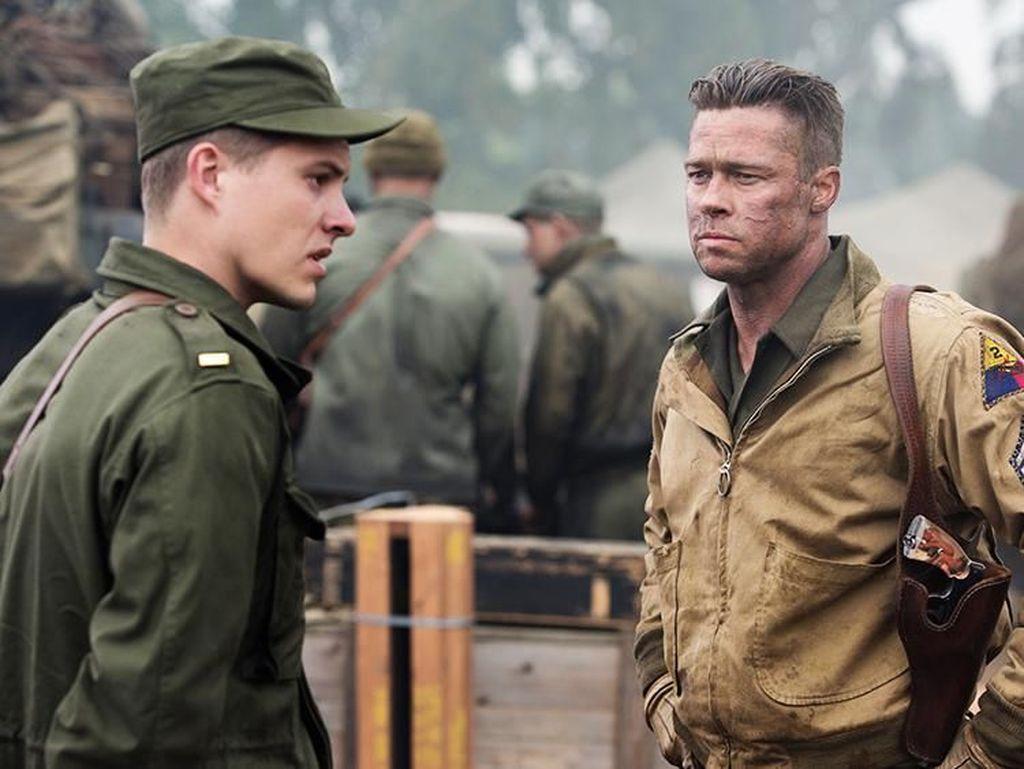 Sinopsis Fury, Dibintangi Brad Pitt hingga Shia LaBeouf
