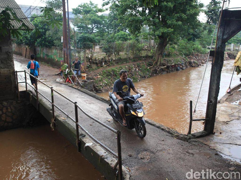 Alhamdulillah... Banjir Pondok Labu Sudah Surut Sejak Subuh