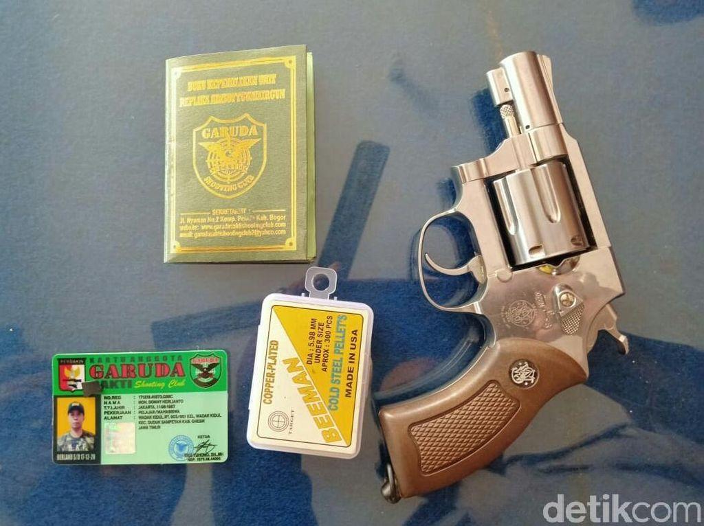 Siapa Pria yang Todong Tetangga Kos Pakai Airsoft Gun, Anggota Perbakin?