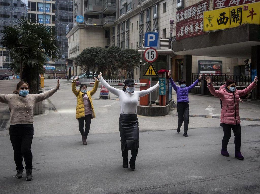 Wuhan Jiayou! Viral Seruan Warga Terisolasi yang Bikin Merinding