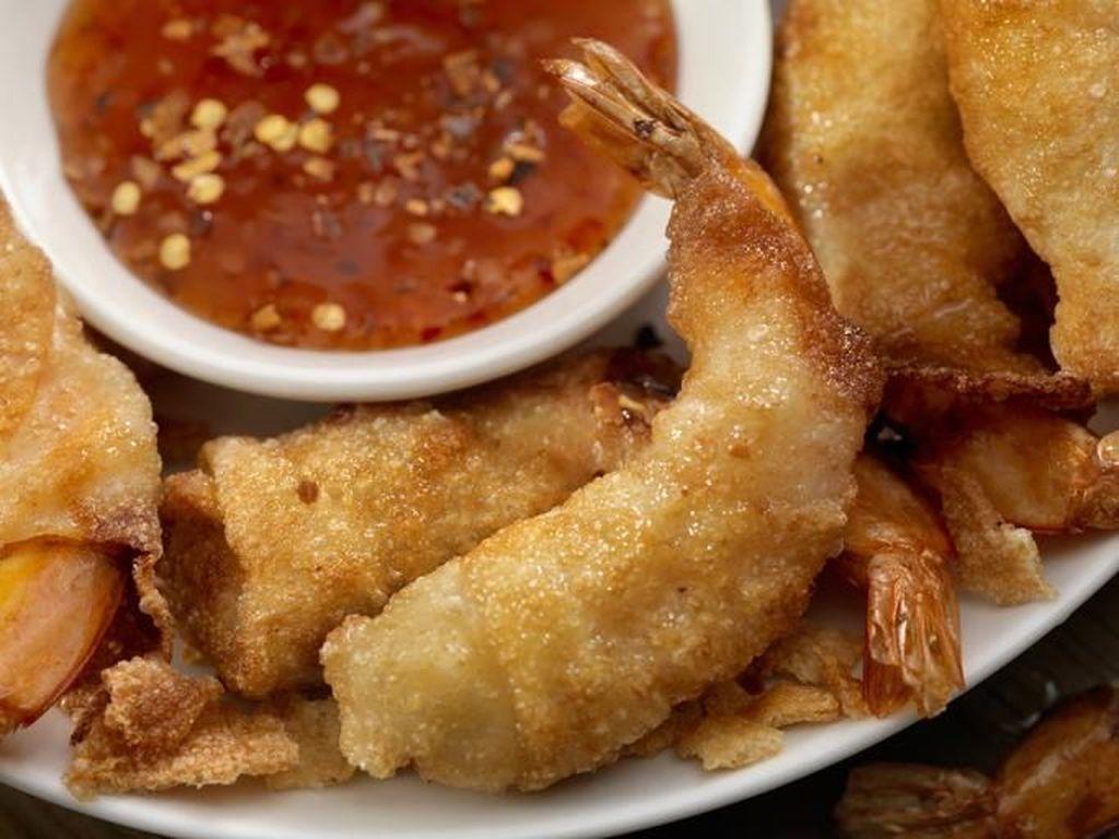 Resep Seafood : Udang Pangsit Renyah