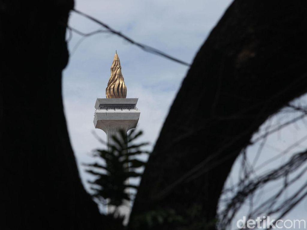 Sisa Pohon di Monas Korban Revitalisasi Masih Jadi Misteri