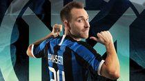 Debut Eriksen Bersama Inter dalam Angka