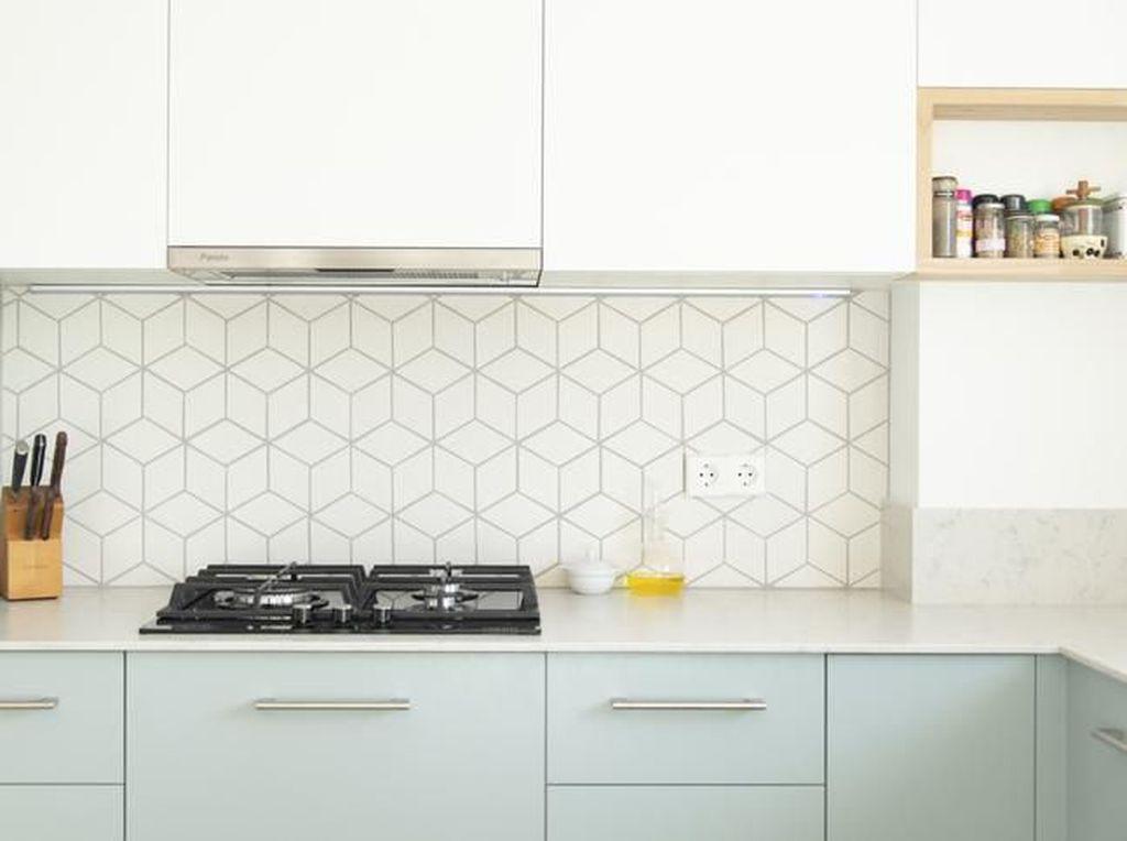 7 Kitchen Set Minimalis Bergaya Monokrom Hingga Scandinavian