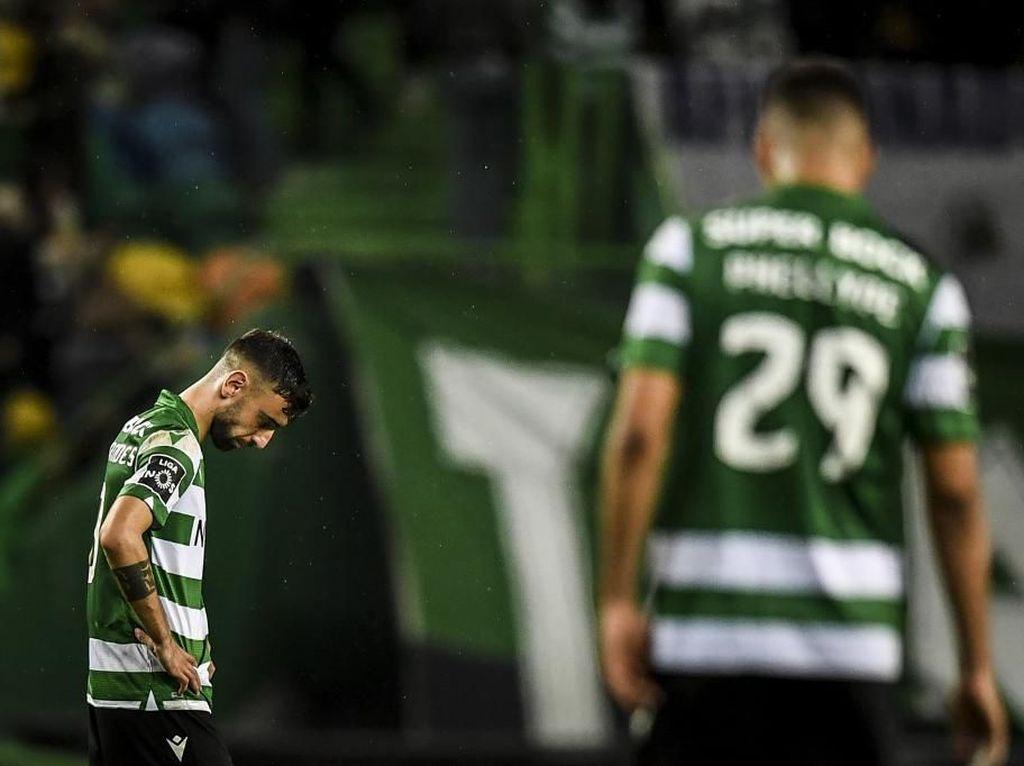 Tangis Haru Bruno Fernandes Berpisah dengan Sporting ke MU