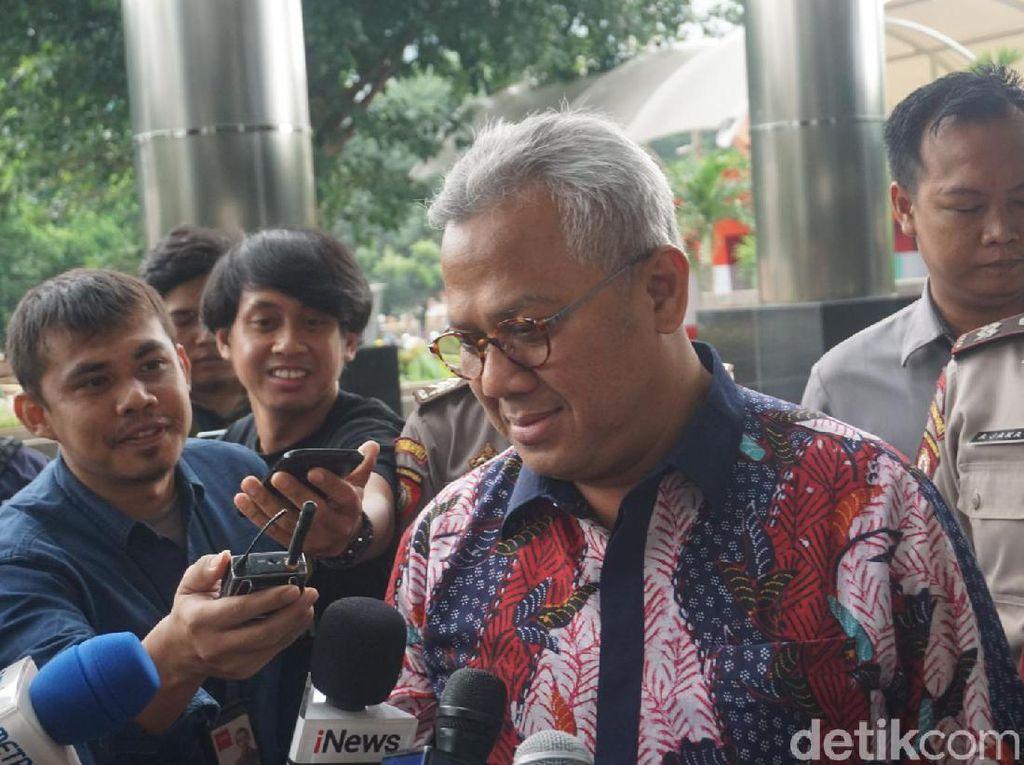 Ketua KPU Penuhi Panggilan KPK soal Kasus Suap Wahyu Setiawan
