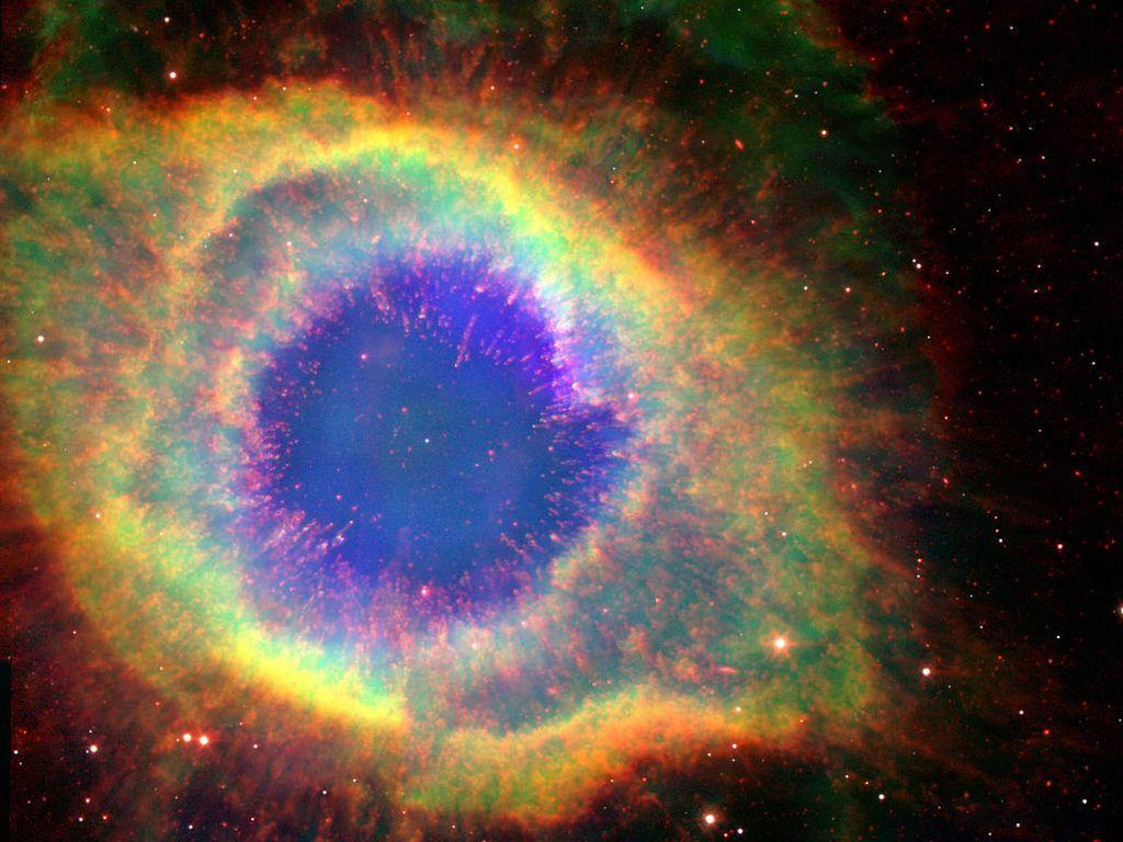 Kecantikan Luar Angkasa dari Teleskop Spitzer yang Mengakhiri Tugasnya