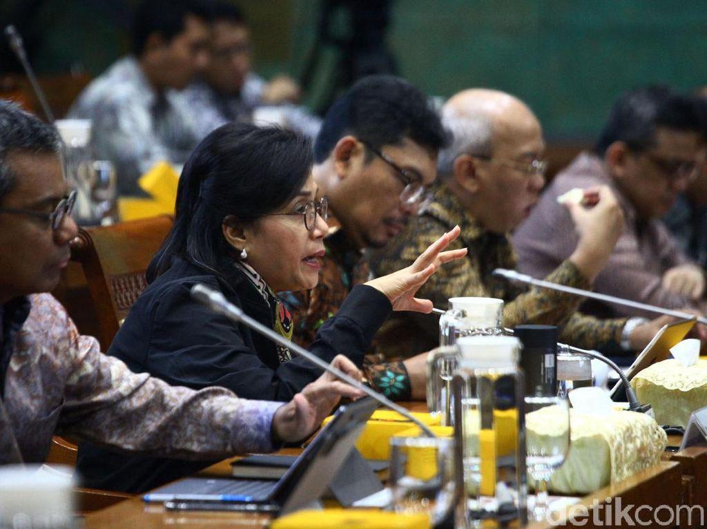 Sri Mulyani Lanjut Rapat Bahas Ekonomi 2020 di DPR