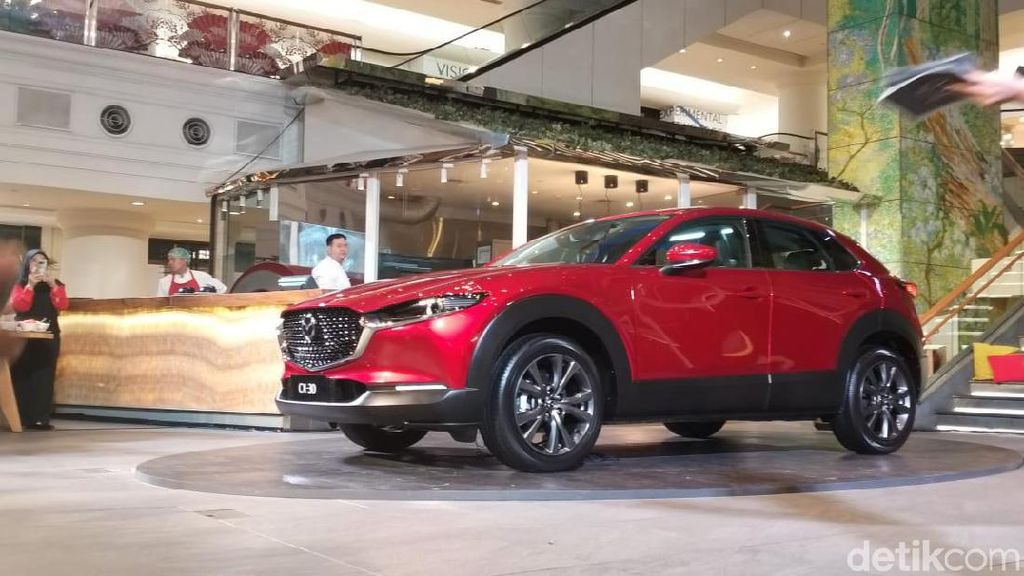 Wujud Mazda CX-30 Penantang C-HR dan Eclipse Cross