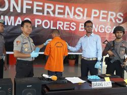 Polisi Tangkap Pembobol 21 Rumah yang Bermodal Obeng