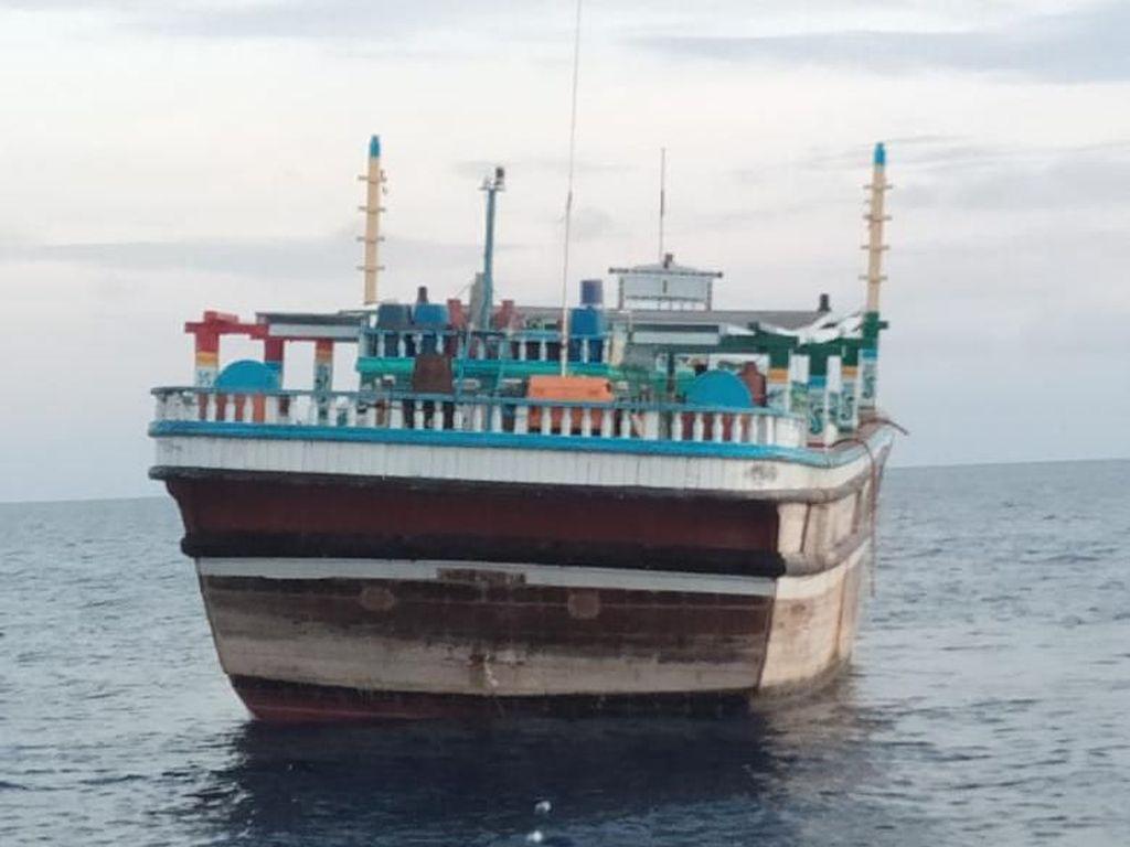 Diduga Dibajak di Somalia, Kapal Berisi WN Iran Terkatung-katung di Aceh
