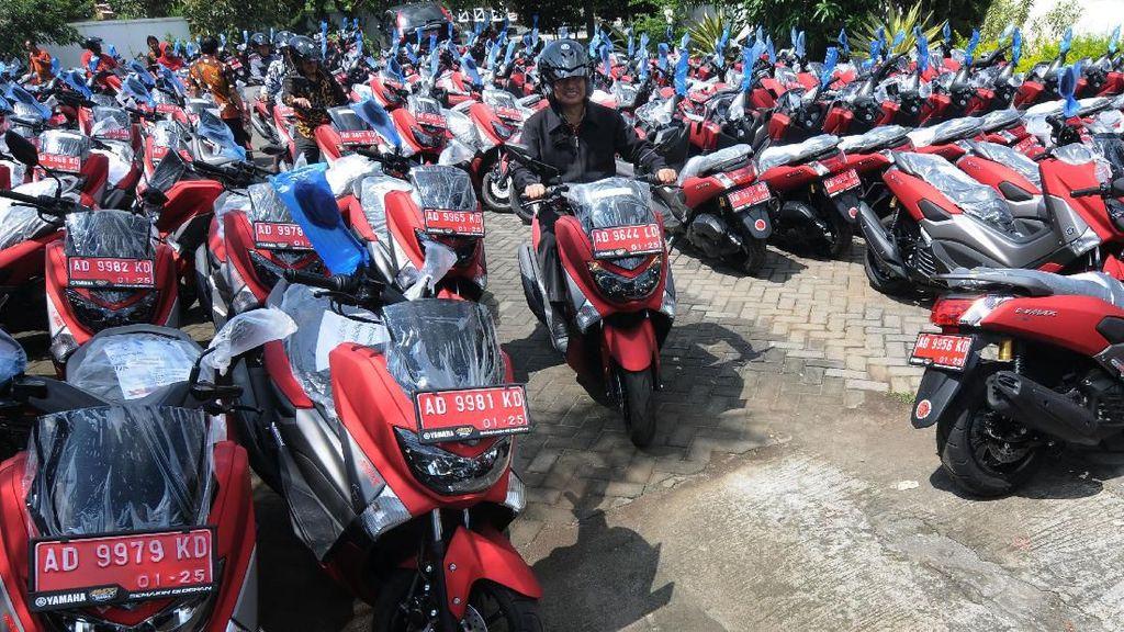Ratusan Perangkat Desa di Boyolali Dapat Motor NMAX