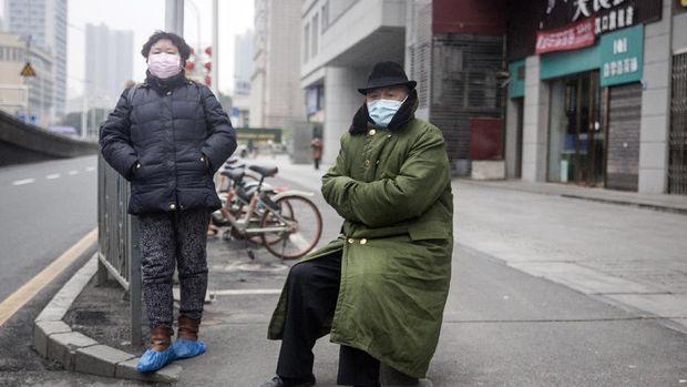 Keadaan kota di Wuhan