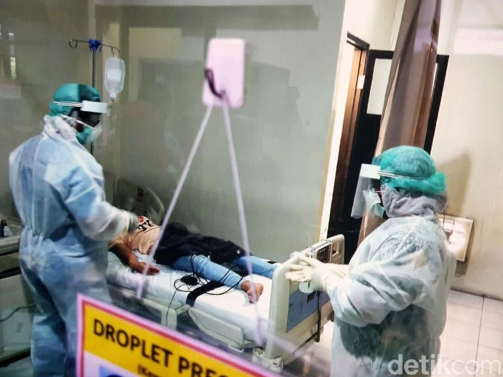 TKW yang Dirawat di Sidoarjo Sudah Boleh Pulang Karena Cuma Flu Biasa