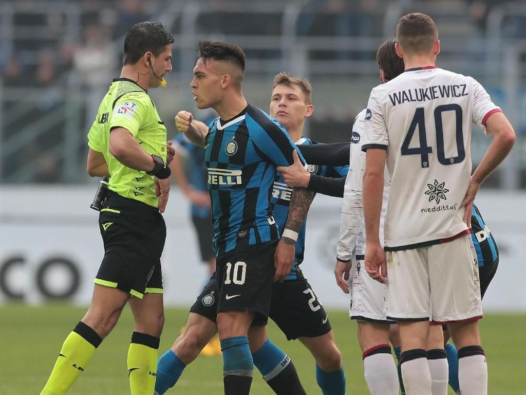 Diskors 2 Laga, Lautaro Martinez Absen di Derby Milan