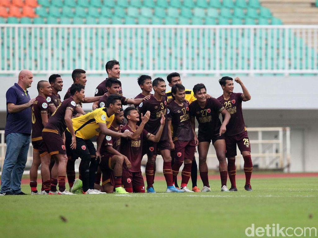 PSM Makassar Pertahankan Corak Khas Sulsel untuk Jersey Musim Depan
