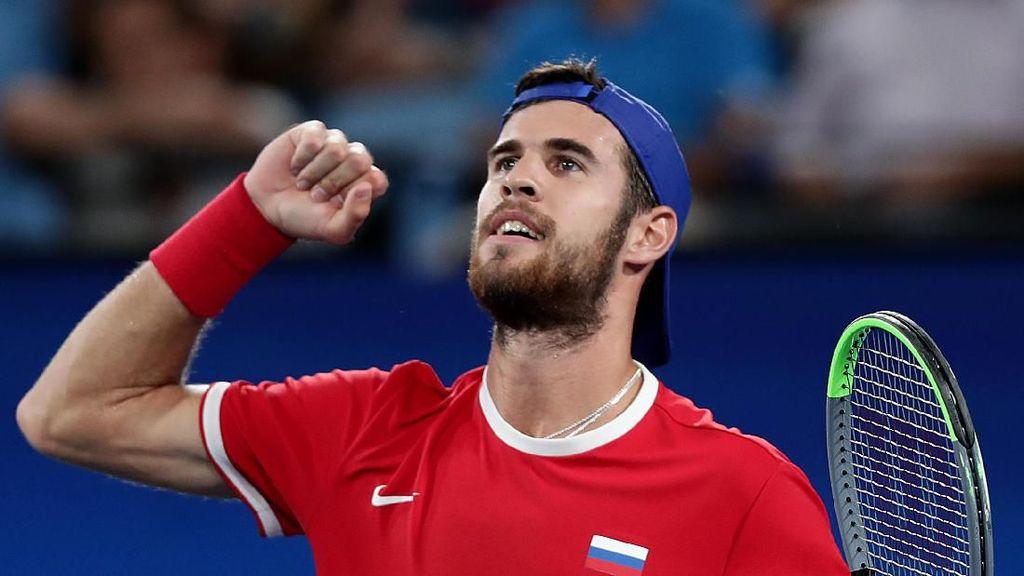 Disebut Mirip Liam Hemsworth, Atlet Rusia Bikin Salfok di Australian Open