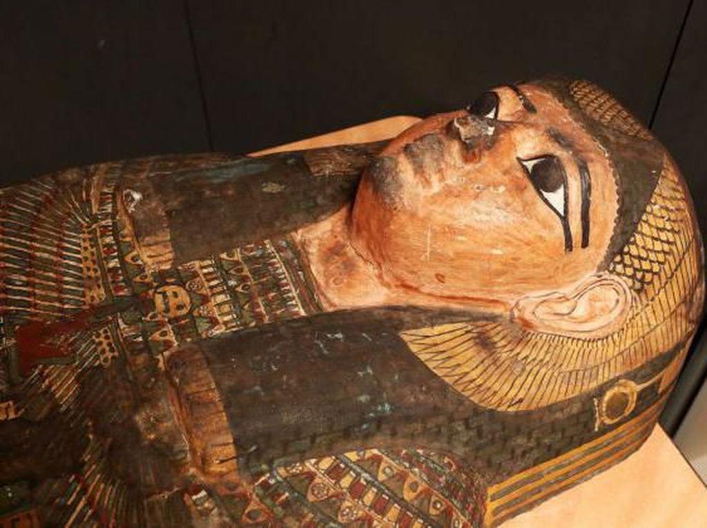 Mumi Berusia 2.600 Tahun Dipastikan Korban Pembunuhan