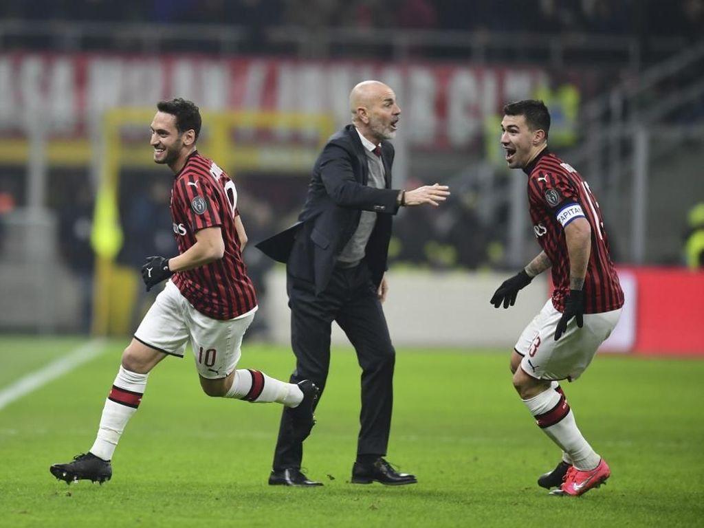 Hasil Coppa Italia: Kalahkan Torino, AC Milan Melaju ke Semifinal