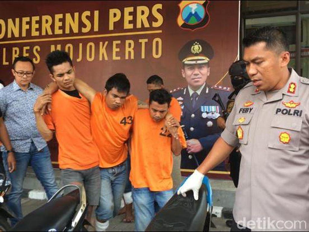 Pencuri Ponsel dan Motor di Mojokerto yang Sempat Viral Ditembak
