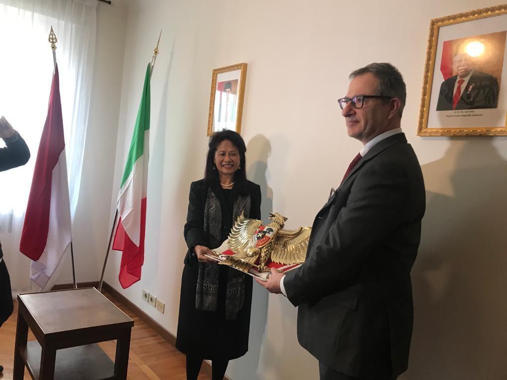 Dubes RI Resmikan Pembukaan Kantor Konsul Kehormatan di Florence Italia