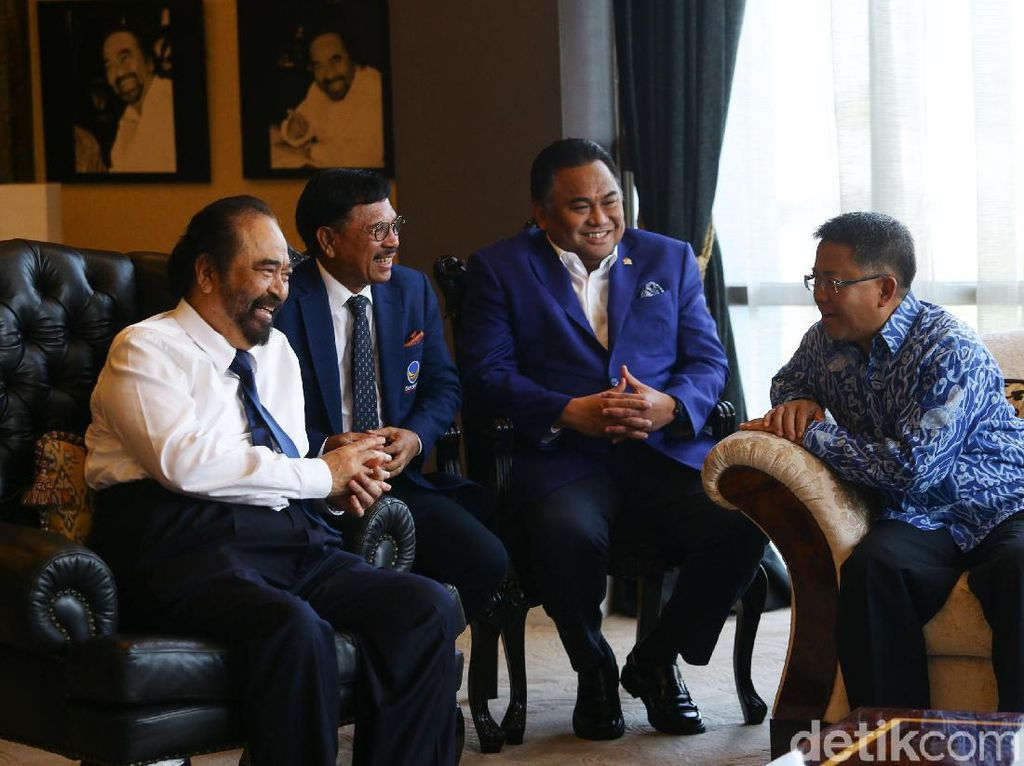Usai Bertemu Surya Paloh, Presiden PKS Ungkap Pelukan Kebangsaan Effect