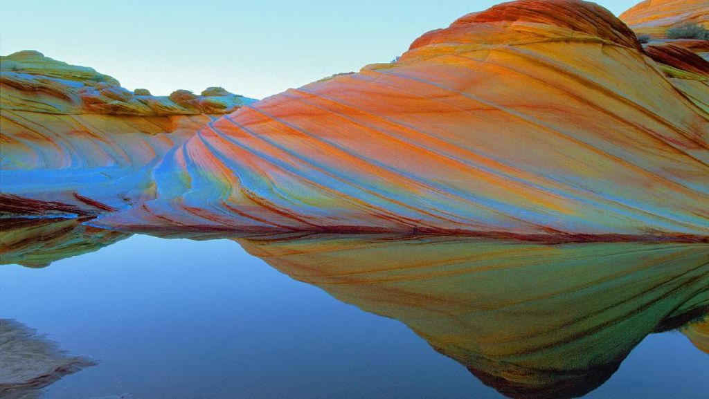 Fenomena Alam Unik: Bukit Mirip Gelombang Laut