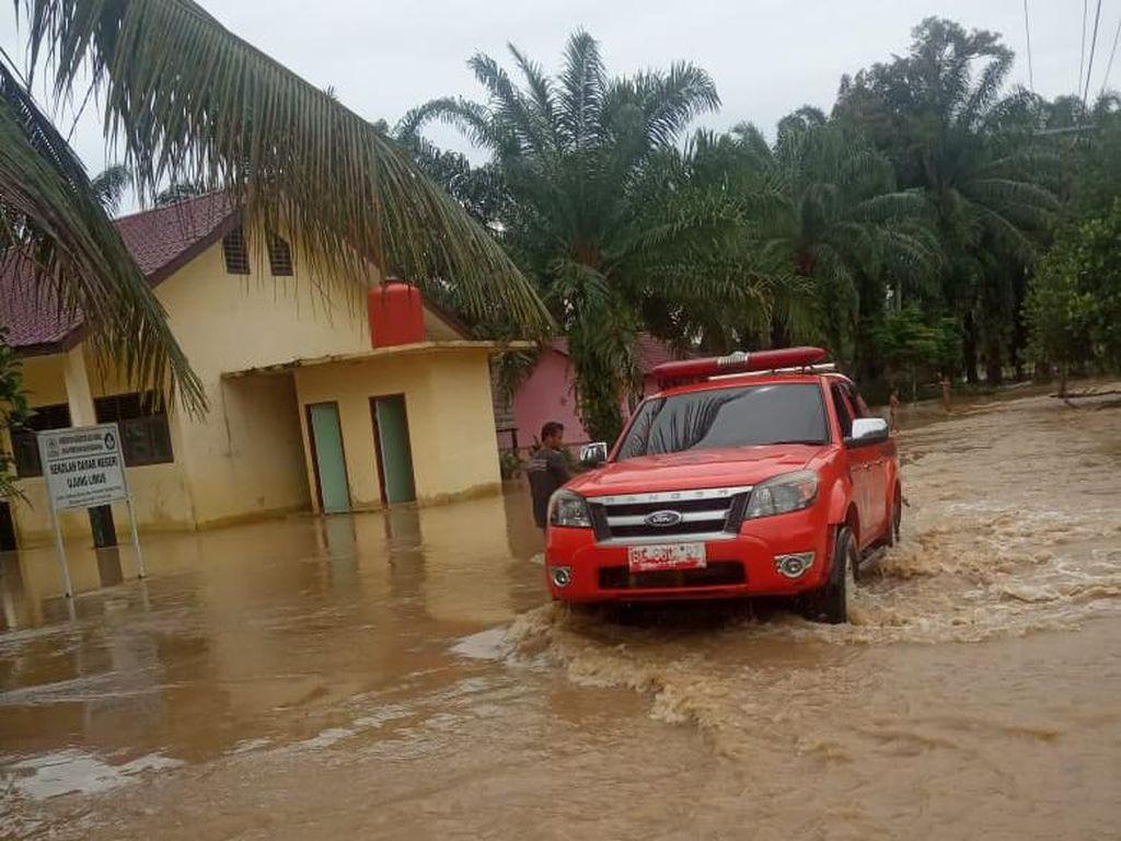 2 Kabupaten di Aceh Terendam Banjir, 1.103 Keluarga Terdampak