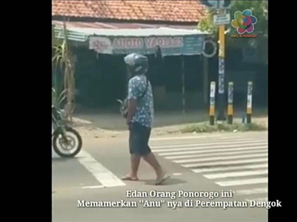 Pria Pamer Alat Kelamin di Perempatan Jalan Ponorogo Idap Gangguan Jiwa