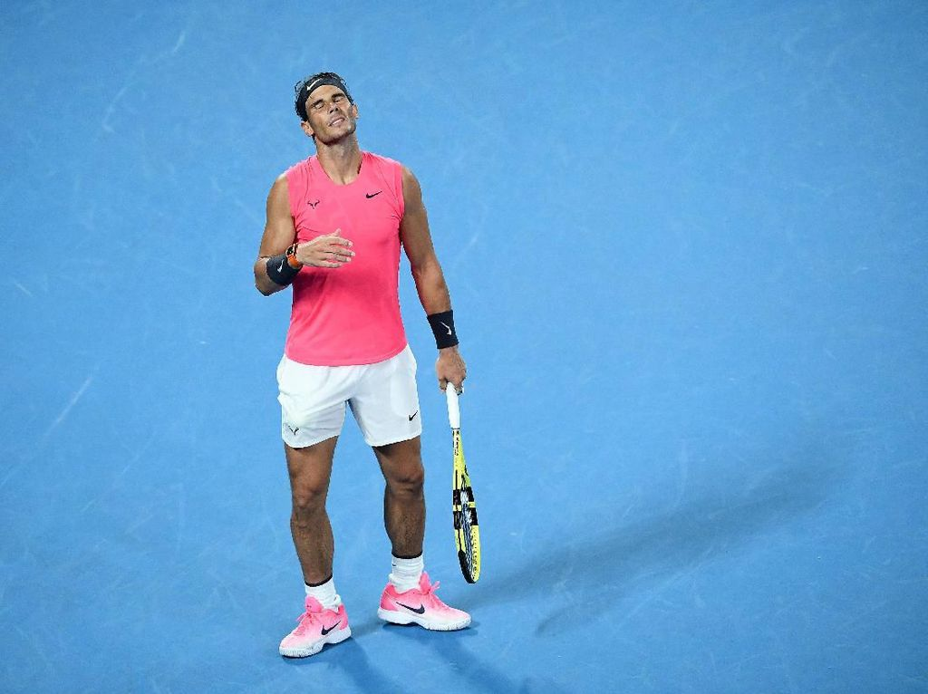 Nadal Kandas di Perempatfinal Australia Terbuka